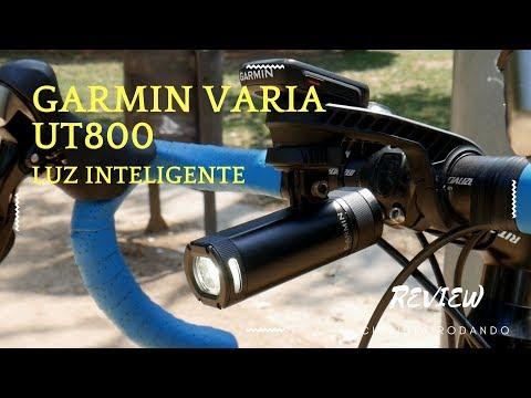 Garmin Varia UT800 - 🚲 MEJOR LUZ inteligente Review en español