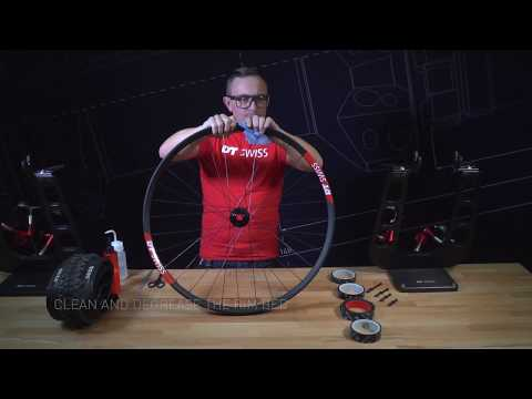 DT Swiss | Tubeless conversion. How to convert your bike tires to tubeless.