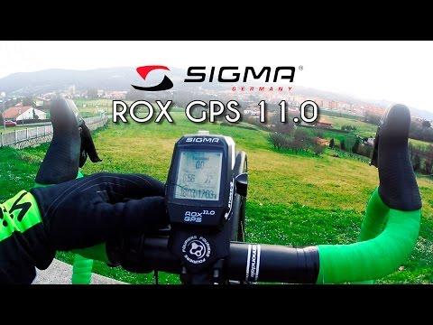 Para ciclistas ambiciosos: ROX GPS 11.0 de SIGMA