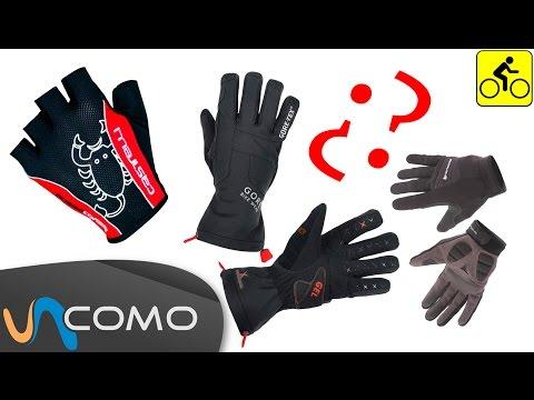 Elegir guantes para ir en bici