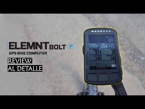 Wahoo Elemnt Bolt - Review al detalle en español