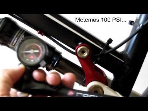 Cómo ajustar el SAG y el Rebote de una horquilla y amortiguador FOX
