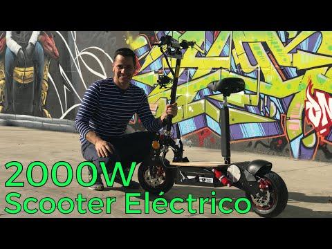 Patinete Eléctrico Potente 2000W: El mejor patinete eléctrico con asiento 2019 review