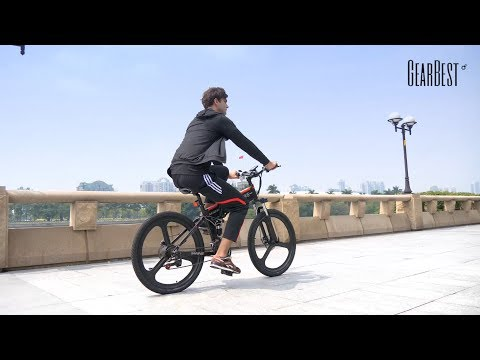 Samebike LO26 Electric Bike Smart Folding Bike E - bike - GearBest.com