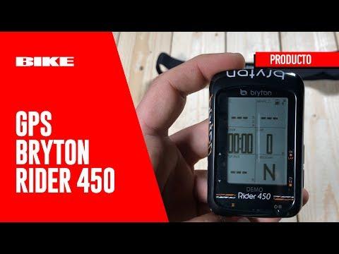 Así funciona el GPS Bryton Rider 450