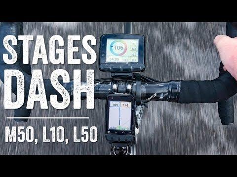 Stages Dash L10, M50, L50 Test Ride // Quick Status Update