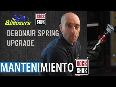 MANTENIMIENTO BASICO HORQUILLAS ROCK SHOX REBA SID DEBONAIR TOKENS