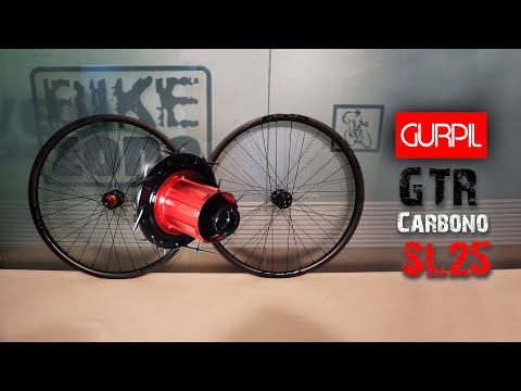 GURPIL lanza las GTR Carbono SL 25 para all mountain