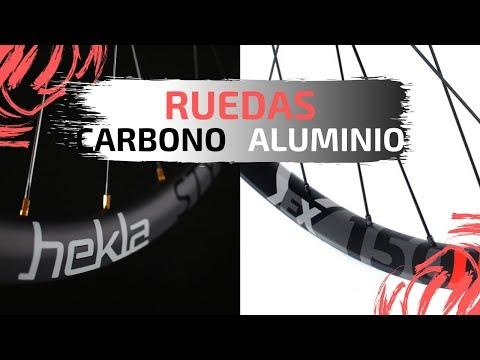 RUEDAS de CARBONO 🆚 RUEDAS de ALUMINIO | Ciclismo y MTB