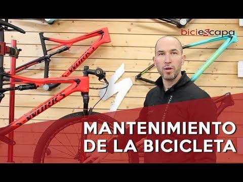 Mantenimiento básico de tu bicicleta