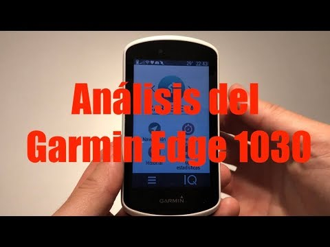 Análisis del Garmin Edge 1030
