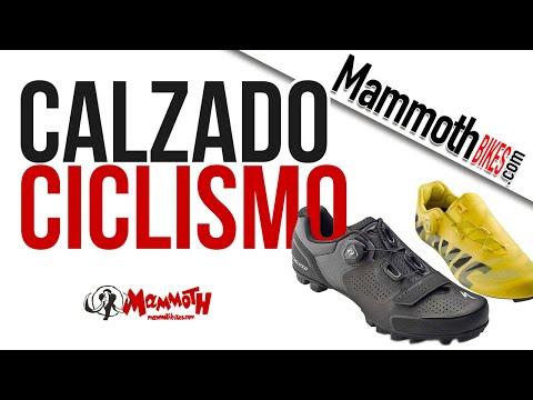Qué tipo de calzado hay para ciclismo