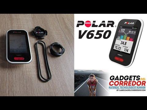 Análisis del ciclocomputador con gps Polar V650