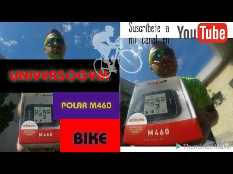 #REVIEW #POLAR #ARGENTINA #POLAR M460 CICLO GPS EN #ESPAÑOL #REVIEW #UNBOXING CON ALTIMETRO