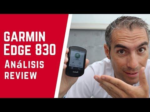 GARMIN EDGE 830.- Análisis