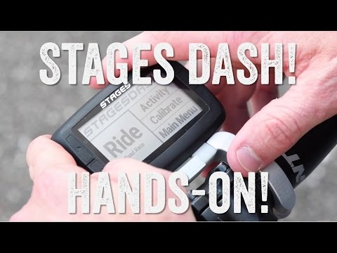 Hands-on: Stages DASH Bike Computer