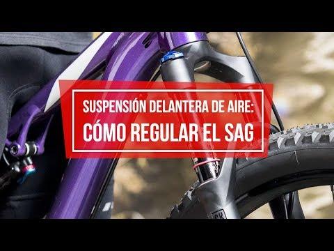 Horquilla de suspensión: cómo regular el SAG