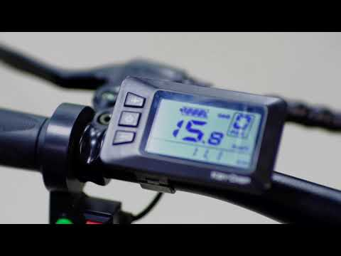 Macwheel Electric Bike Cruiser 550 Unboxing