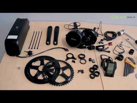 Bafang 250W/500W/750W/1000W BBS01/BBS02/BBSHD Mid Drive Motor installation - English