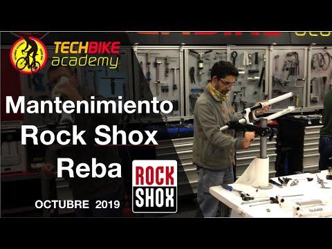 Mantenimiento suspensiones RockShox