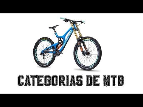 ¿Qué tipos de categorías hay en el MTB?