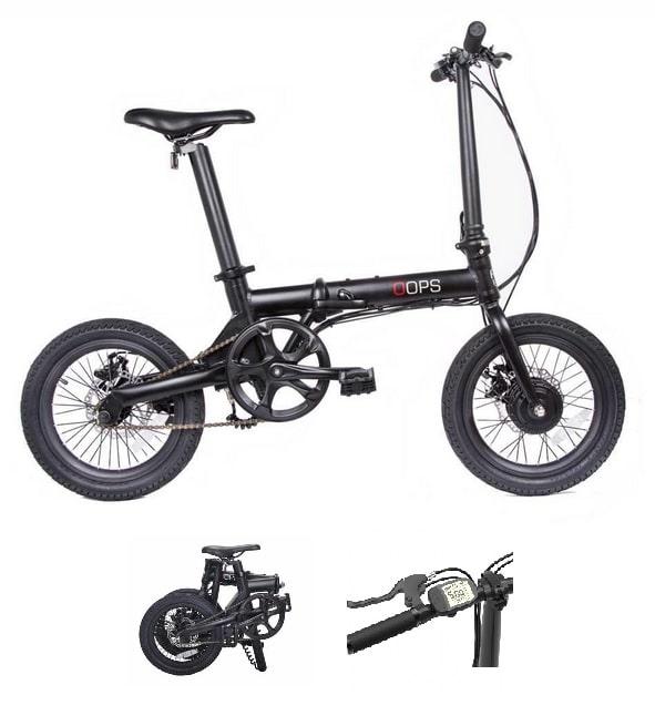 Bicicleta eléctrica plegable ligera Fun Bike Oops