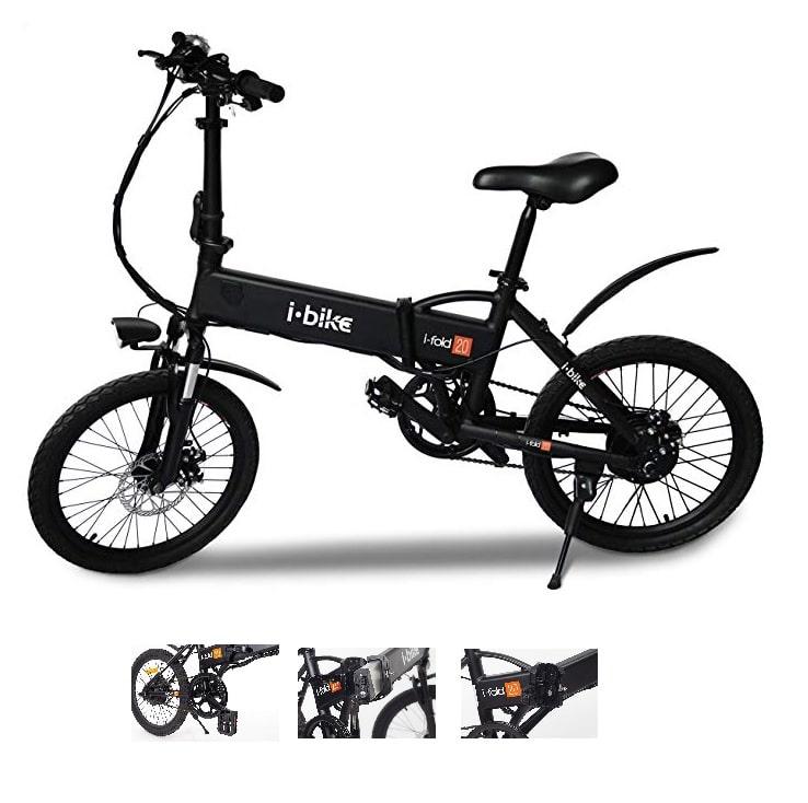 Bicicleta eléctrica plegable I-Bike I-Fold 20