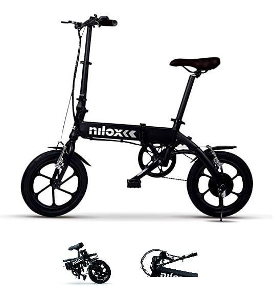 Bicicleta eléctrica plegable barata Nilox X2 Plus