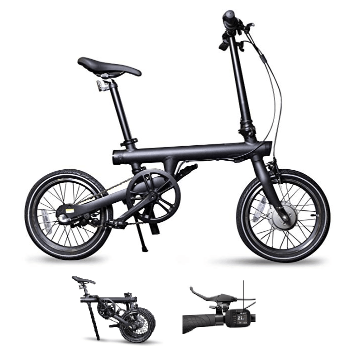 Bicicleta eléctrica plegable ligera Xiaomi QiCycle