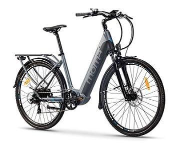 Bicicleta eléctrica barata Moma E-Bike 28