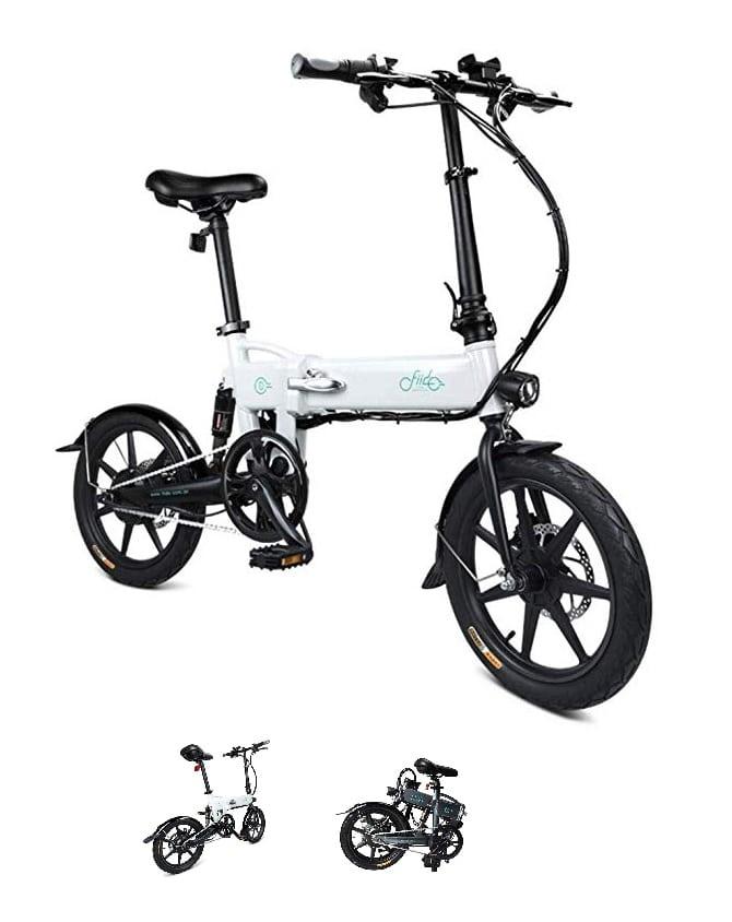 Bicicleta eléctrica plegable Fiido D2