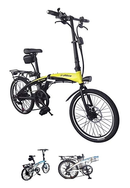 Bicicleta eléctrica plegable ligera By Helliot 01