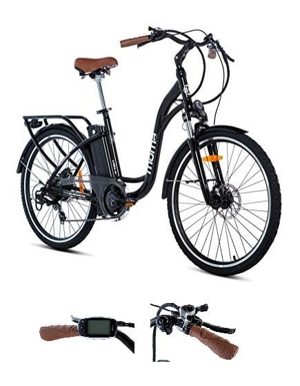 bicicleta electrica de paseo moma ebike 26