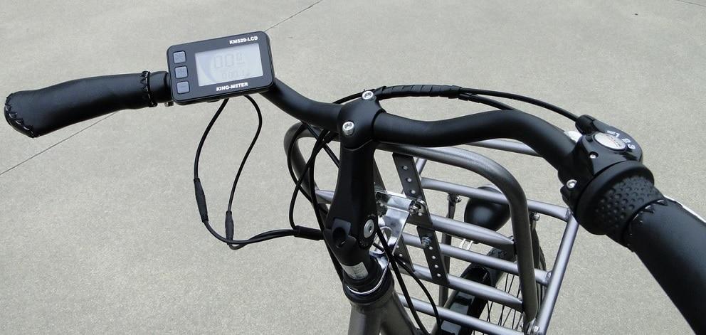 Display LCD de bicicleta eléctrica de paseo Rymebikes Cargo