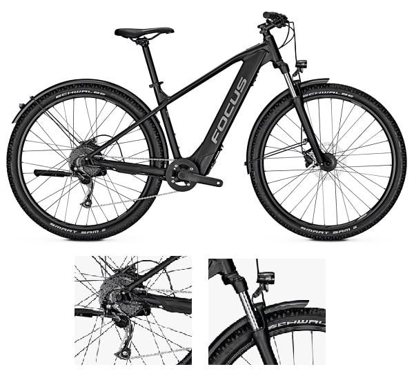 Bicicleta BTT eléctrica Focus Whistler 6.9