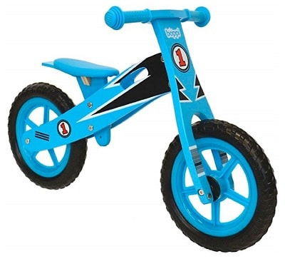 Bicicleta de madera sin pedales Boppi