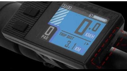 Pantalla LCD de la Samebike 55