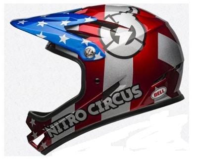 Casco integral bici Bell Nitro Circus
