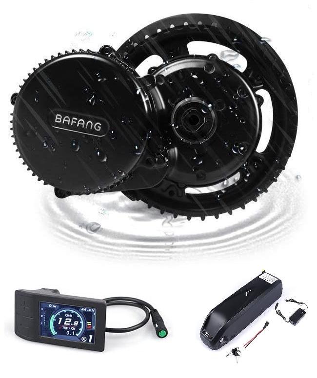 Kit electrico para bicicleta: motor central Bafang