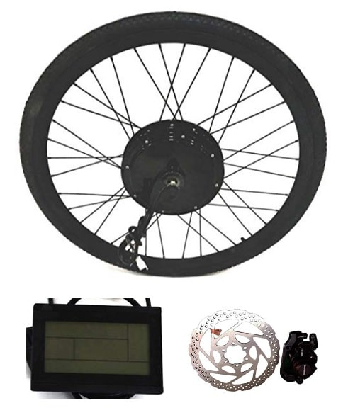 Kit electrico para bicicleta en rueda TheEBikeMotor