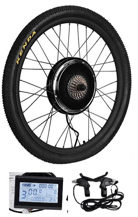 Kit rueda eléctrica bici 1500W