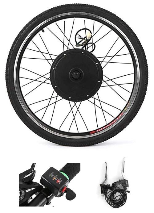 Kit electrico para bicicleta en rueda Walmeck