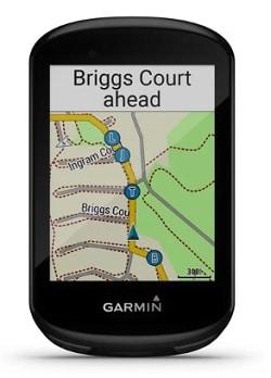 Mapas del ciclocomputador GPS Bicicleta Garmin Edge 830