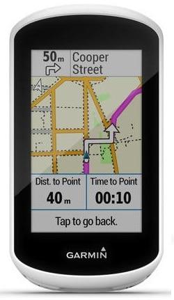 Mapas en el GPS Garmin Edge Explore