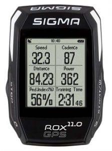 Ciclocomputador GPS Bicicleta Sigma Rox 11.0