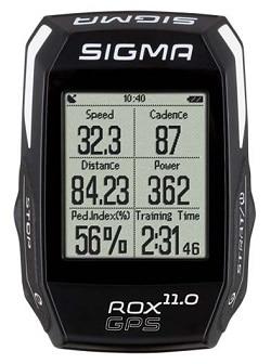 Ciclocomputador GPS Bicicleta Sigma Rox 11