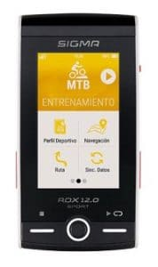 Ciclocomputador GPS Bicicleta Sigma Rox 12.0 Sport