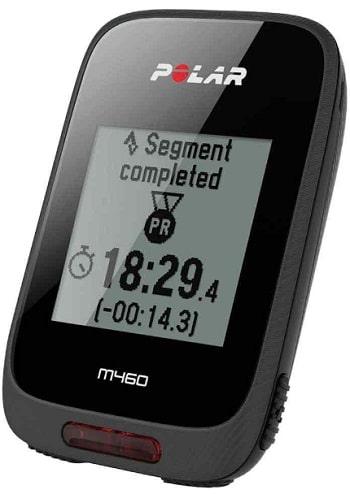 Strava Live Segments en el GPS Polar M460