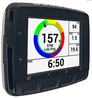 Vatios en el ciclocomputador GPS para bicicleta Stages Cycling Dash L50