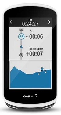 Strava Live Segments en el GPS Garmin Edge 1030